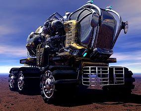 3D T-5580 Moon Rover