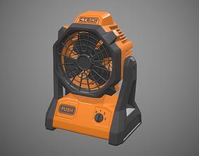 3D asset Jobsite Fan