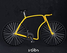 Bicycle 3d Model carbon