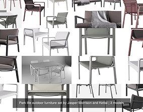 Park life outdoor furniture set by Jasper Morrison and 3D