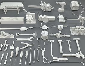 3D saw Tools - 40 pieces - collection-1