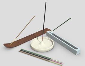 Incense Burner Pack 3D asset