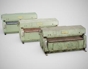 Sanding Machine - Anthon 01 3D model low-poly