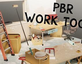 PBR Work Tools 3D model
