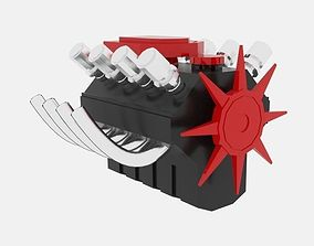 3D asset Engine XD Hemi