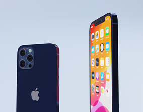 iphone 12 pro max 3d model
