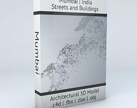 Mumbai Streets and Buildings 3D model