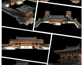 3D collections Chinese classical temple