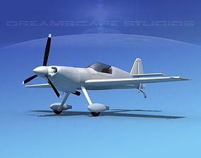 3D model MXS Aerobatic Sport Bare Metal