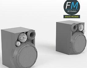 Hi-Fi speakers 3D