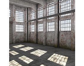 Warehouse storage 3D
