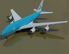 KLM Airbus Netherlands 3D model