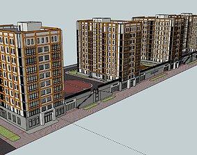 3D complex Residental Complex