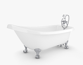 Bathtub faucet 3D