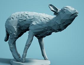 zoo Low Poly Lamb Model
