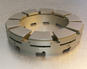 3D Tilting Pad Thrust Bearing