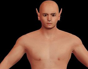 3D model warrior young Boy