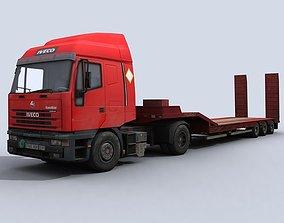 Transport Truck 3D model VR / AR ready