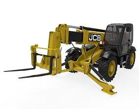 3D asset JCB Construction Telehandler