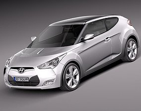 hyundai Hyundai Veloster 2012 3D