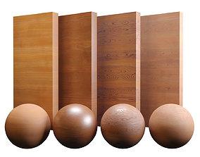 3D asset Fine Teak Wood Varnished Texture PBR Vray Corona