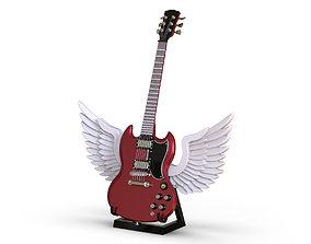 3D model Guitar - Gibson SG
