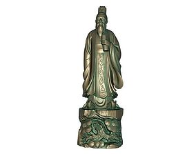 Confucius 3D print model india