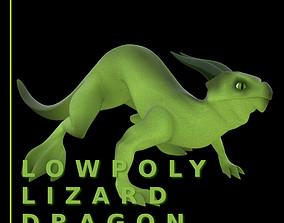 Lizard Dragon SMALL 3D asset
