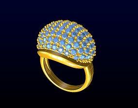fashion-ring 3D print model DIAMOND JEWELLERY
