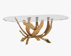 3D model Fred Brouard Abstract Bronze Table