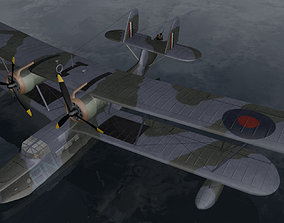 3D model Supermarine Stranraer Mk-1
