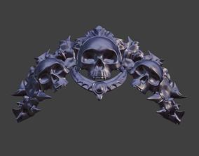 Sindel Diadem Tiara Crown from Mortal 3D printable model 1