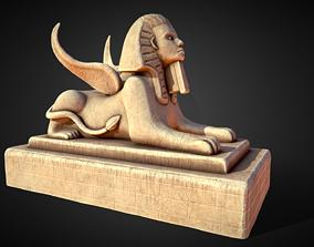 3D model Egypt Sphynx