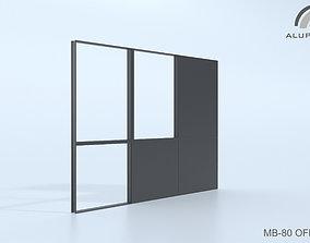 3D model Aluprof MB-80 Office 001 0163