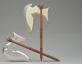 3D Spear Model Higth Poly Clear Model warrior