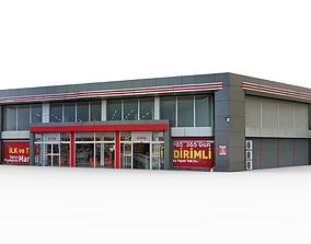 3D model Super Market Building 2