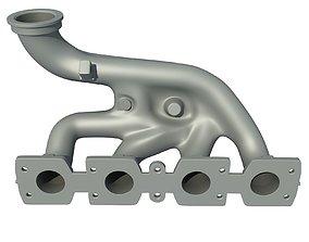 3D Exhaust Manifolds 7 silencer