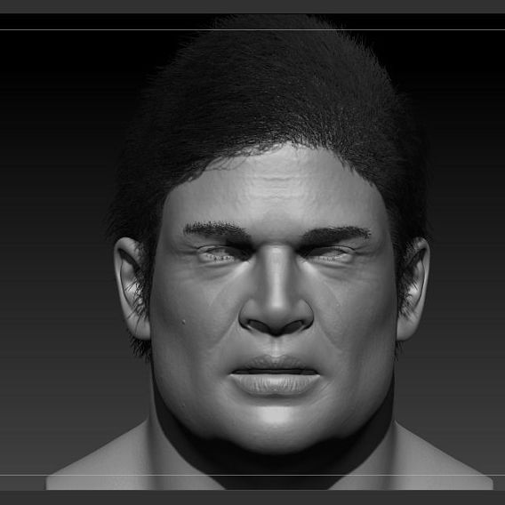 Zbrush  face sculpt