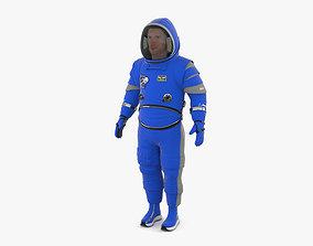 Spacesuit Boeing Starliner 3D