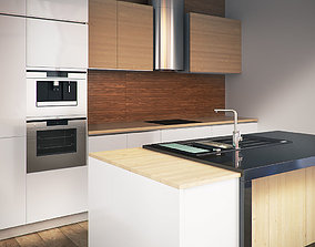 3D Kitchen Furniture VIII