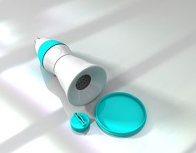 3D print model Portable clean water bottle design