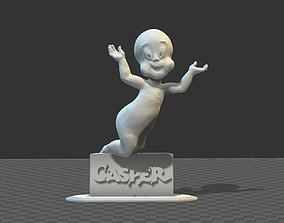 CASPER the friendly ghost figurine 3D printable model