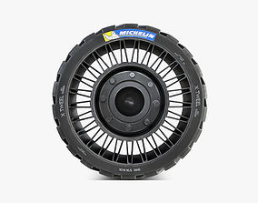Michelin Tweel 16 5 inch S 3D model