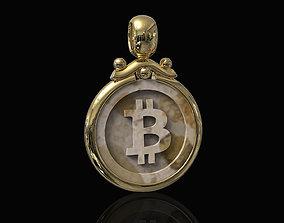 Bitcoin Pendant 3D print model