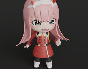 Chibi Zero Two - 3D Printable