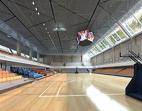 Basketball Hall soccer-stadium 3D