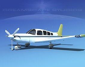 Piper Cherokee Six 300 V08 3D