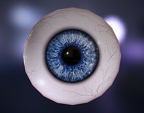 Realistic Human Eye 3D asset VR / AR ready