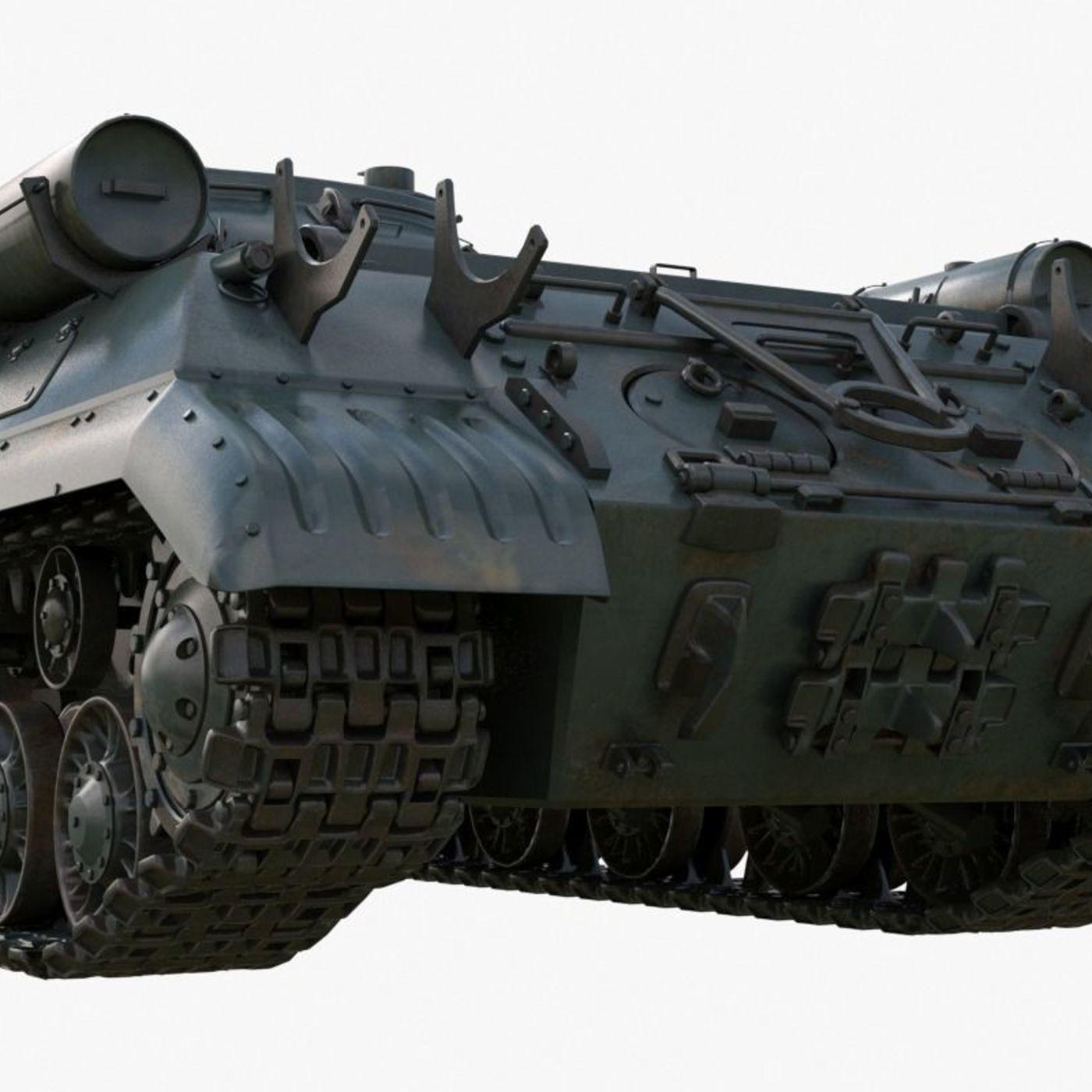 Tank IS 3M Mental Ray 3D model