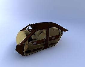 2000 Nissan Altima Interior 3D
